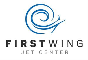First Wing Jet Center logo