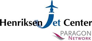 Henriksen Jet Center logo